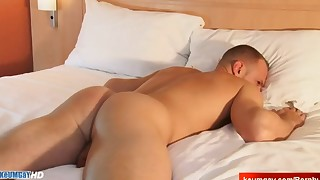 HOT Ass massage to real handsome straight guys !