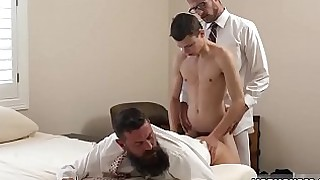 Gay boys cum in each other motel Following his meeting with Bishop